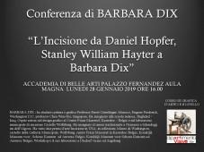 Conferenza di Barbara Dix
