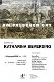 Incontro con Katharina Sieverding