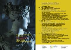 Programma Giornata del Patrimonio