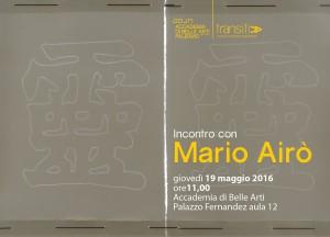 invito Mario Airo
