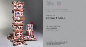 locandina Bertozzi e Casoni